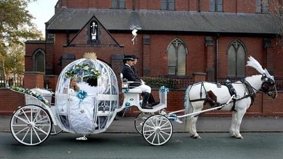 wedding cars carriage