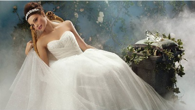 wedding bridal princess look